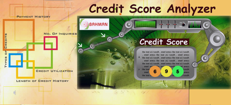 Credit Score Analyzer by Bahman Davani