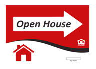 Open House Sign for City of Plano