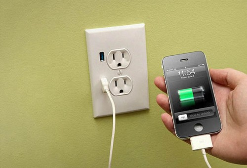 Electrical Outlet with USB