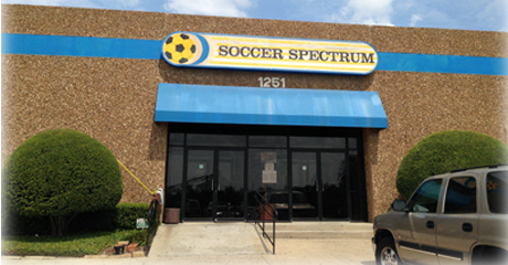Soccer Spectrum Indoor Facility in Richardson, Texas